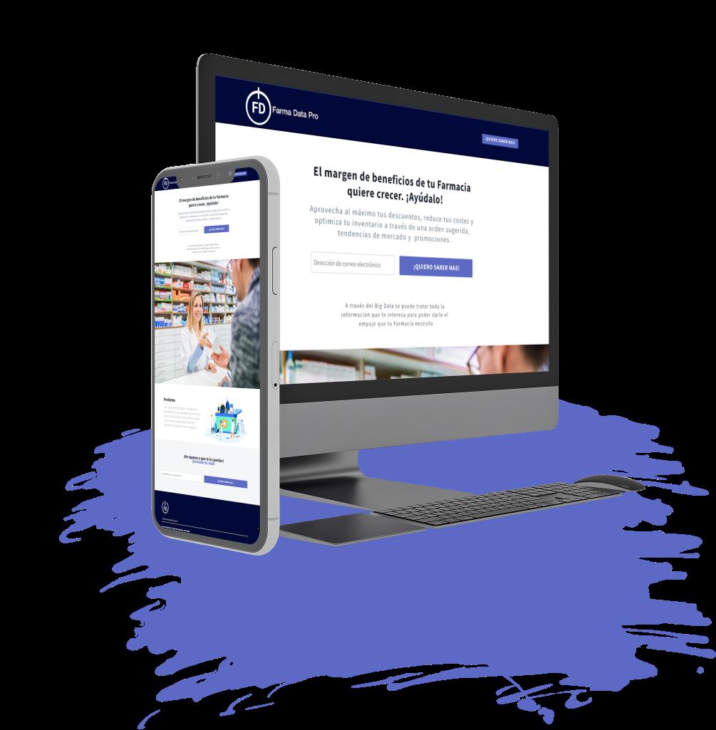 Innovation Landing Page Design